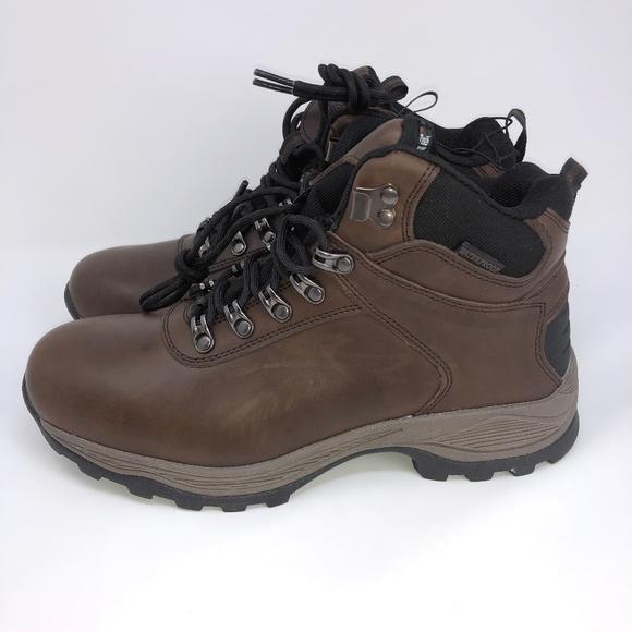 a029d480d2c Khombu Ravine Leather Waterproof Boot Size 10 NWT